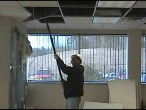 Tilerex Suspended Ceiling Tile Remover Youtube