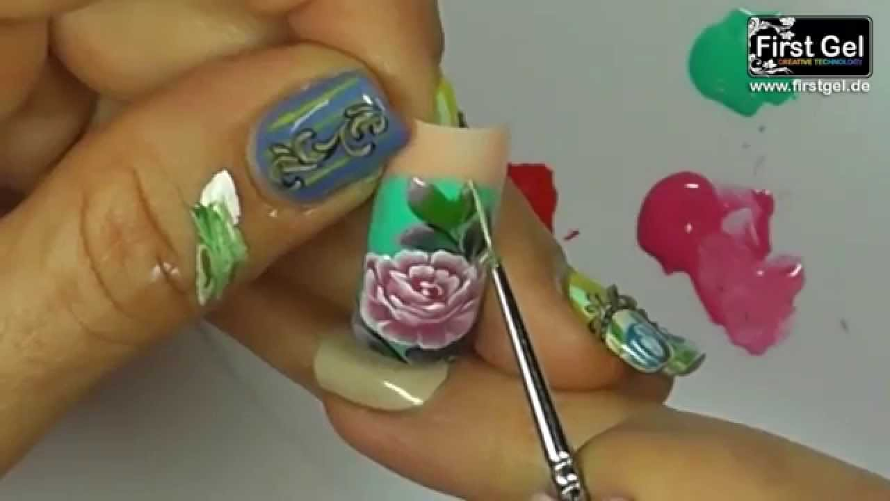 Zhostovo Russian Decorative Painting Gel Kurs Mit First Gel