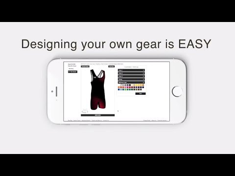 Designing Your Own Wrestling Gear With Design Studio!