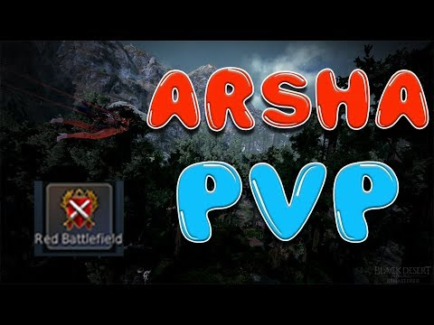 Insanely Fun Arsha PvP at Manshaums and Mirumok | Black Desert Online