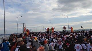Millenial Road Safety Festival Bersama Via Vallen   Jembatan Suramadu