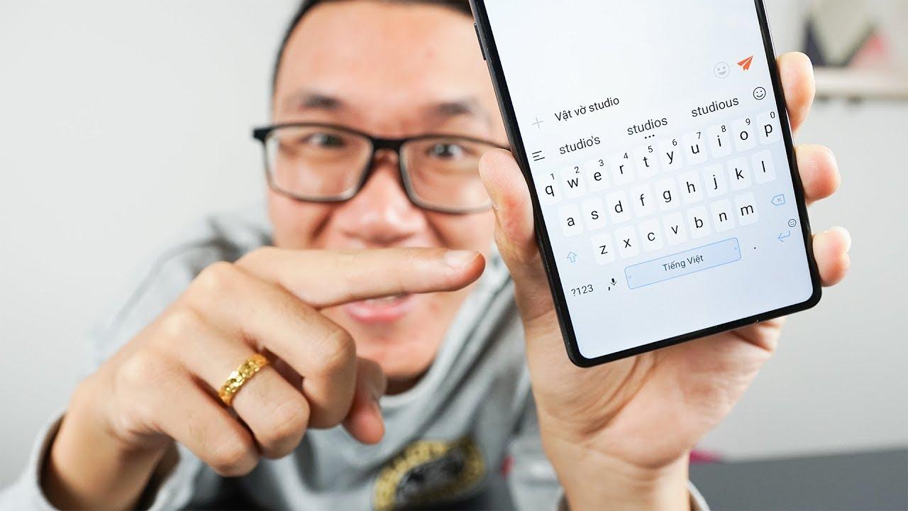 Bàn phím ngon nhất cho Android cằm mỏng đây rồi