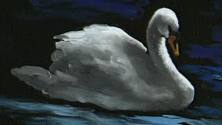"The Beauty of Oil Painting, Series 1, Episode 11, ""Swan at Lithia Park"""