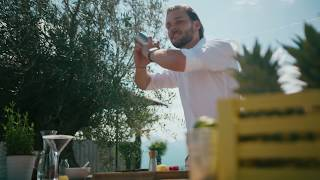 Rasperry Sour mit TEEKANNE Cool Sensations Himbeere Zitrone