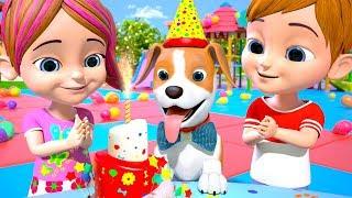 Bingo's Birthday  Dog Song   Nursery Rhymes for Children   Kindergarten Cartoon by Little Treehouse