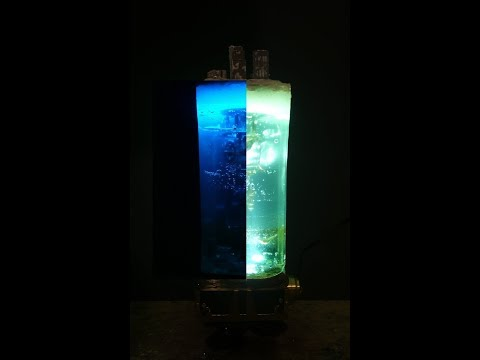 DIY Steampunk Resin Lamp METAL & RESIN ART