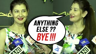 Sangeeta Bijlani ANGRY On Reporter Over Salman Khan's Mention