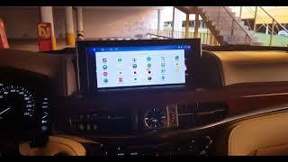 ДА ЭТО КРУЧЕ НОВОГО IPHONE XS! Блок навигации на ОС Android 7 1 2 для Lexus LX⁄RX 2015+