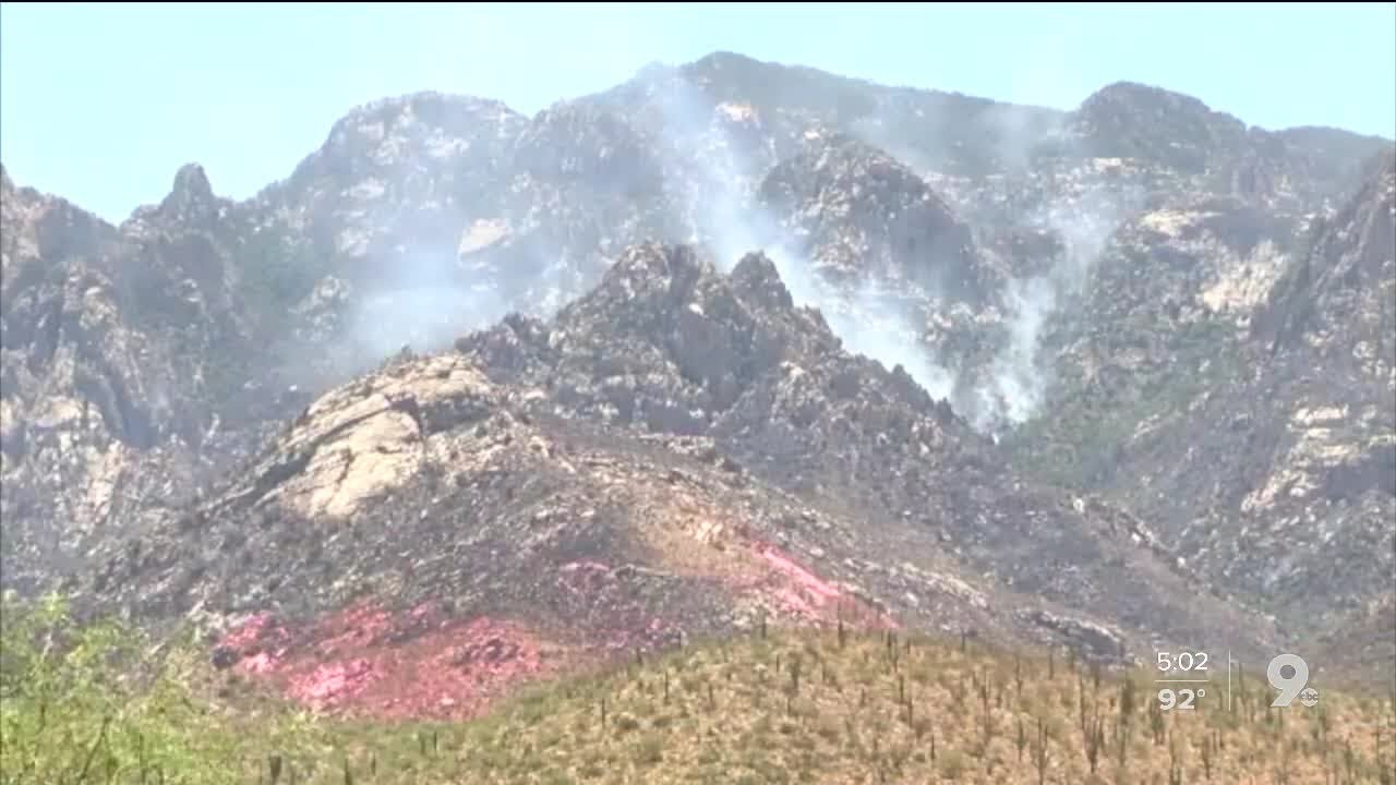Bighorn Fire passes 7000 acres, only 10 percent contained