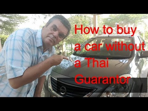how to buy a car in Thailand