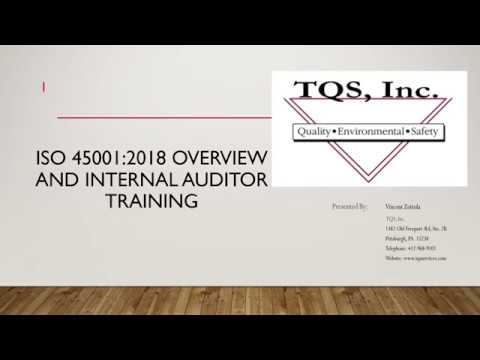 ISO 45001 Online Training Demo : TQS Inc.