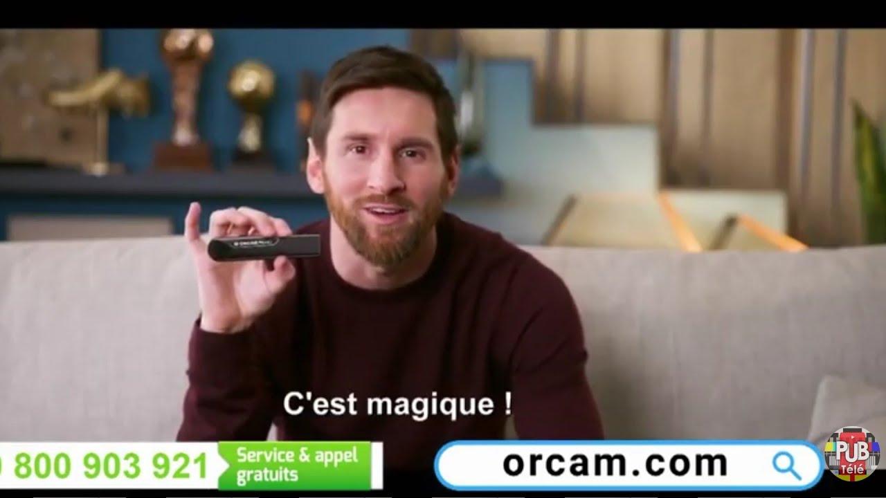 """Musique de la pub OrCam Read – Lionel Messi """"c'est incroyable ! c'est magique !""""  Juillet 2021"""