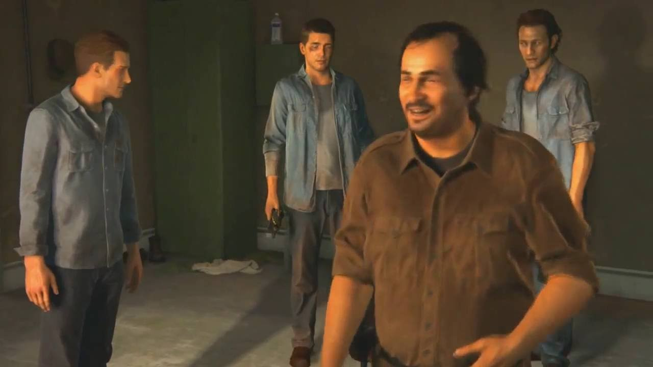 Uncharted 4 A Thief S End Rafe Kills Vargas Death Scene Youtube