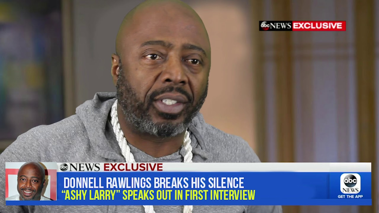 donnell rawlings aka ashy larry comes clean youtube donnell rawlings aka ashy larry comes clean