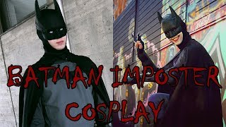 Jokerizing My Batsuit - Batman Imposter Cosplay