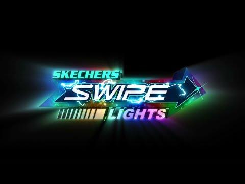 Skechers Swipe Lights Technology