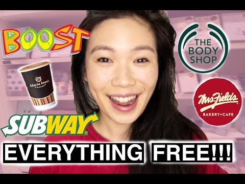 HOW TO GET As MANY BIRTHDAY FREEBIES As Possible   Australia 2019