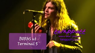 "BORNS performing ""Dopamine"" & ""Electric Love"" live at Terminal 5"