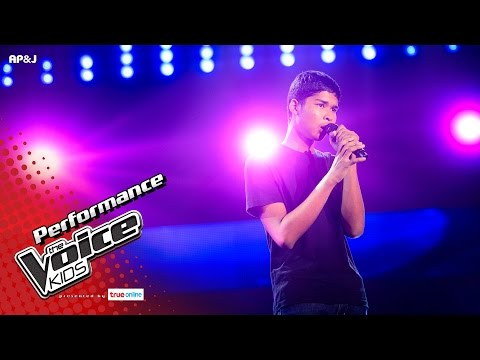 Thumbnail: จิว - ผู้ชายคนนี้กำลังหมดแรง - Blind Auditions - The Voice Kids Thailand - 30 Apr 2017