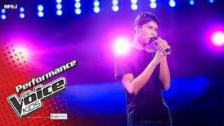 จิว - ผู้ชายคนนี้กำลังหมดแรง - Blind Auditions - The Voice Kids Thailand - 30 Apr 2017