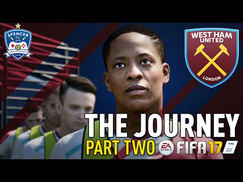 THE JOURNEY! #2 - FIFA 17 - GAME TIME!!!