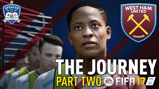 THE JOURNEY! #2 - FIFA 17 - GAME TIME!