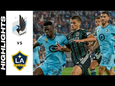Minnesota Los Angeles Galaxy Goals And Highlights