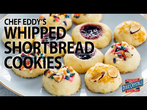 How To Make Chef Eddy's Whipped Shortbread Cookies