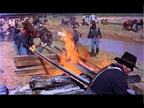 The Horse Soldiers Railroad Destruction
