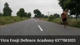पन्जे पर दौड़ रेस में आ जावोगे / थोड़ा ग्लूकोज पीले बस  / Viru Fouji Defence Academy