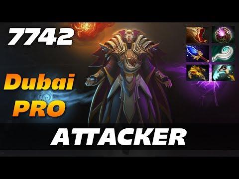 Attacker Invoker Dubai PRO   7742 MMR Dota 2