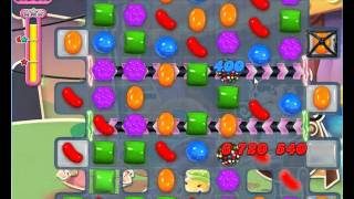 Candy Crush Saga Level 553 No Boosters  *** 14 MOVES TO SPARE ***