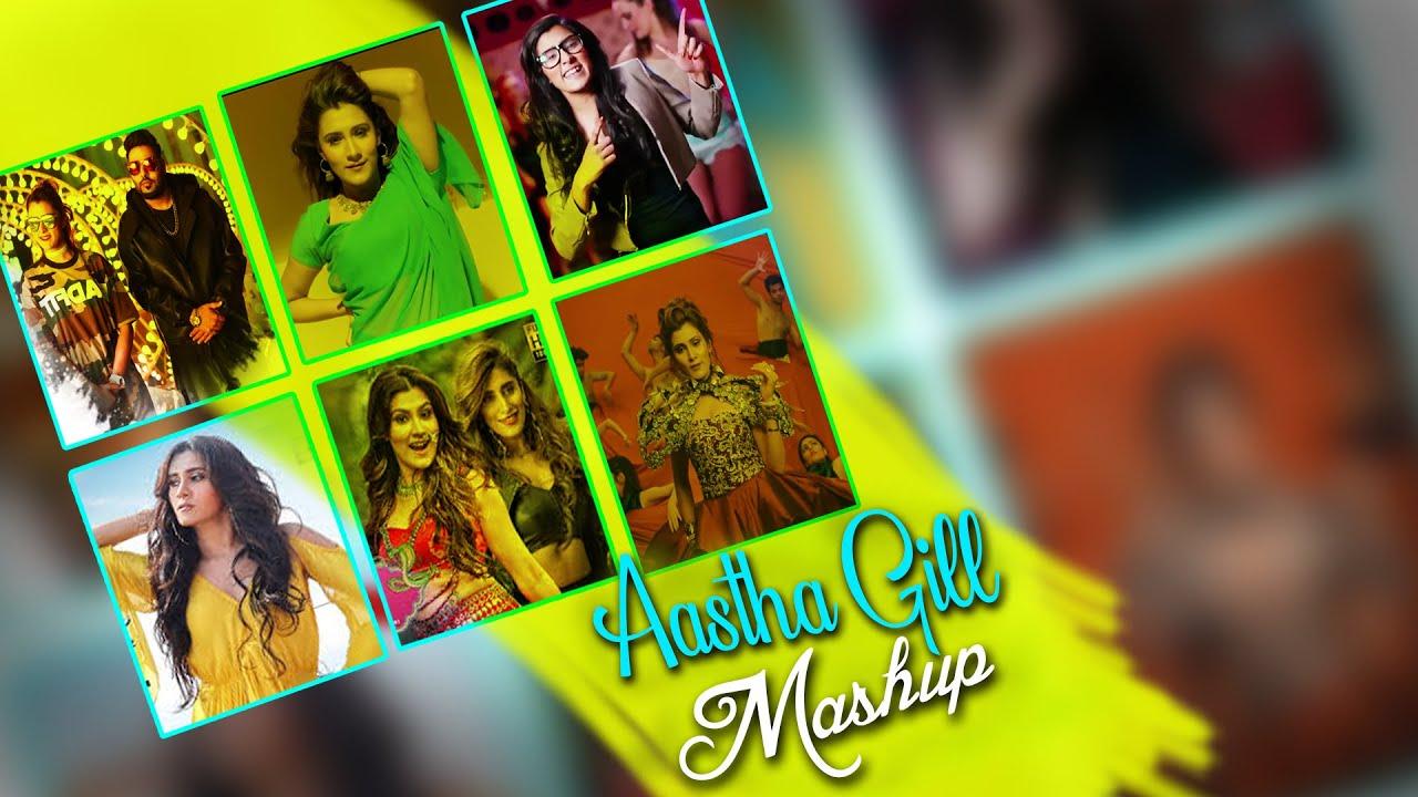 Aastha Gill Mashup | Dj Mons & Dj Esha | New Aastha Gill Songs | Sajjad Khan Visuals