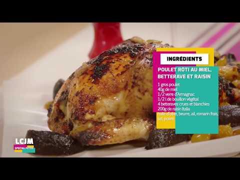 poulet-rôti-au-miel-recette-facile-et-rapide---cuisine-jafo-recipes