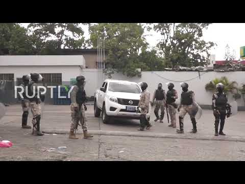 Haiti: Police Detain Looters As Violent Protests Against President Moise Continue