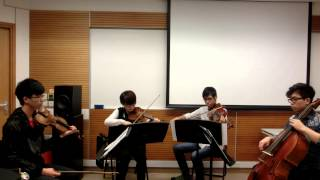 Borodin String quartet no.2 mvt.3 by William Lee, Lo Sze Wing, Kenny Lung and Jeff Bernardo