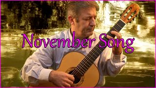 November Song - Classical Guitar by Frédéric Mesnier