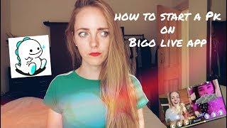 What is PK ?  |  How to start a PK on Bigo Live App ??  | Bigo live app
