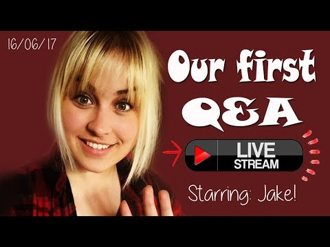 Our first live Q&A! 16/06/2017 (with Jake!)