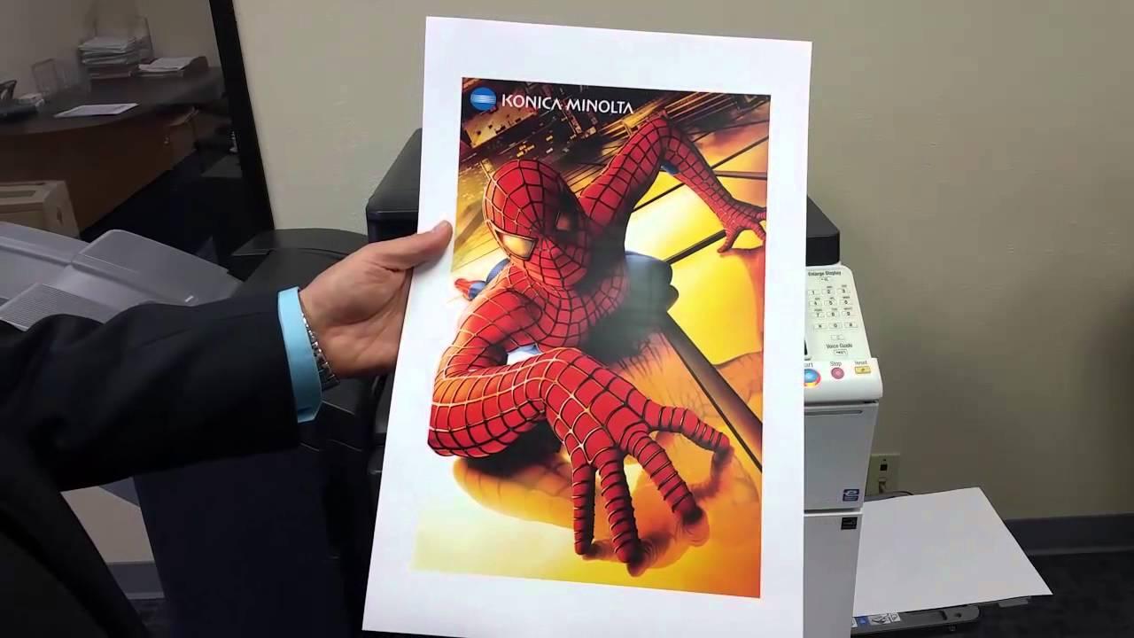Konica Minolta Bizhub C284 Color Copying Printing Scanning System