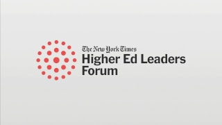 The New York Times Higher Ed Leaders Forum: Day 2