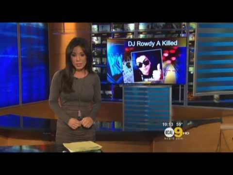 Thousands Of Fans Mourn Death Of Dj Rowdy A | KCAL 9 NEWS