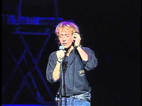 Bee Gees; Robin Gibb - I Started a Joke - live One for All - 1989