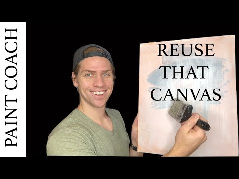 Oil Painting materials   DON'T THROW AWAY THAT CANVAS!!!
