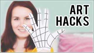 10 Art Hacks That Will Blow Your Mind & Make Your Life Easier!