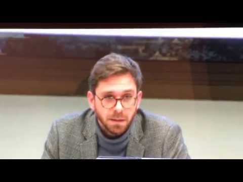 "Matteo Lepore speaks at the conference: ""The Charter of Fundamental Rights"" part 2"