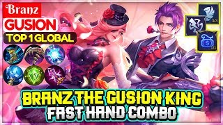 Branz The Gusion King, Fast Hand Combo [ Top 1 Global Gusion ] Branz - Mobile Legends