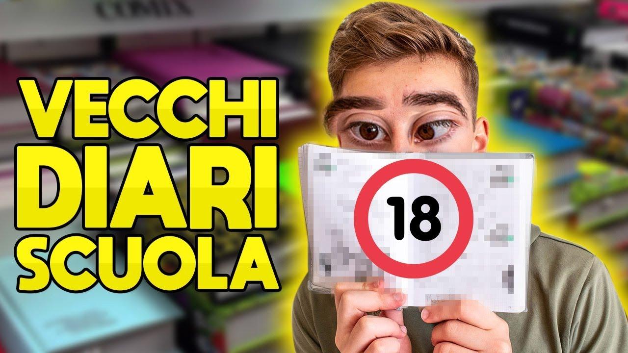 Download I NOSTRI VECCHI DIARI DI SCUOLA!! CRINGE LEVEL 9000