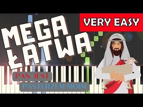 🎹 Pan jest Pasterzem moim - Piano Tutorial (MEGA ŁATWA wersja) 🎹