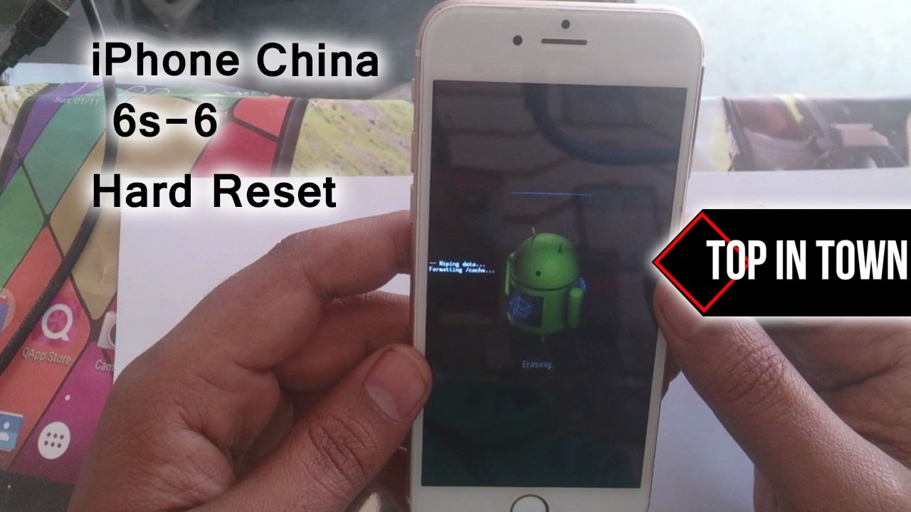 how to do hard reset on iphone iphone 6 clone reset 2017 9426